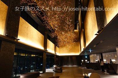 三井ガーデンホテル名古屋プレミアムのロビー