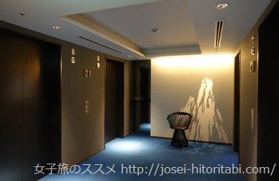 三井ガーデンホテル名古屋プレミアのロビー