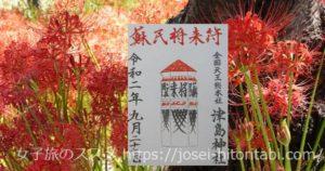 津島神社の御朱印
