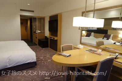京都ブライトンホテルの客室