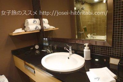 京都ブライトンホテルのトイレ