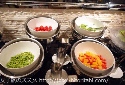 京都ブライトンホテルのディナー