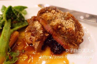 京都ブライトンホテルの夕食