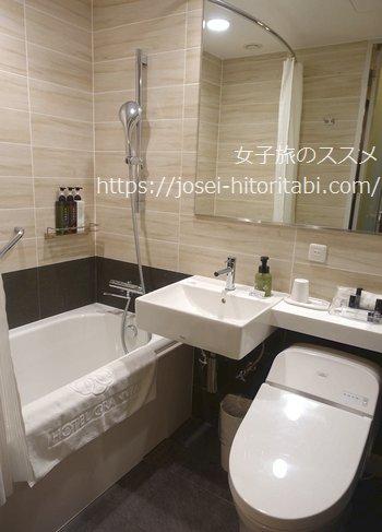 ホテルグランヴィア岡山のお風呂