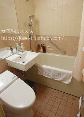 ホテルオークラJRハウステンボスの客室風呂