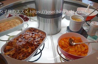 ホテルオークラJRハウステンボスの朝食ビュッフェ