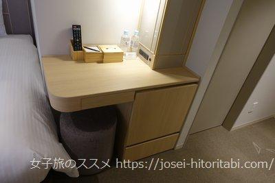 京王プレリアホテル京都烏丸五条の客室