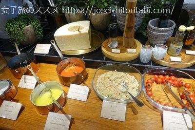 イカリヤ365の朝食ビュッフェ