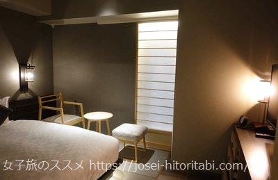 ホテルリソル京都 河原町三条の客室