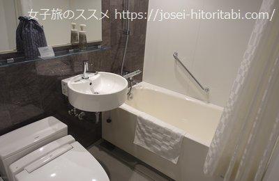 ホテルリソル京都 河原町三条のお風呂