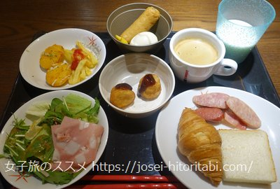 ホテルリソル京都 河原町三条の朝食バイキング