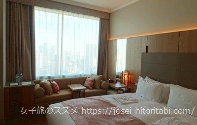 ホテルザセレスティン東京芝の客室
