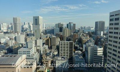 ホテルザセレスティン東京芝の眺望