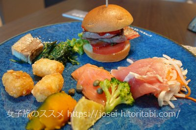 ホテルザセレスティン東京芝の朝食バイキング