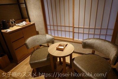 梅小路ポテル京都の客室