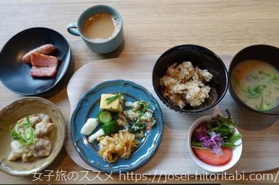 梅小路ポテル京都の朝食バイキング