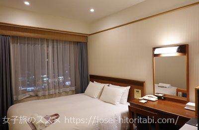 ホテル山楽 山科の客室