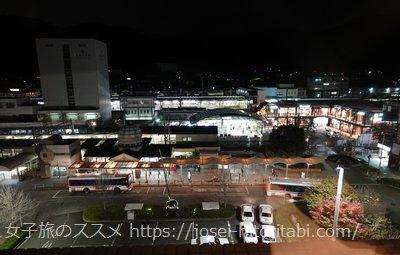 ホテル山楽 山科の眺望