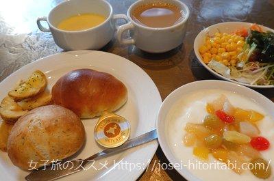 アーバンホテル京都二条プレミアムの朝食