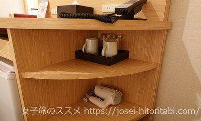アーバンホテル京都二条プレミアムのアメニティ