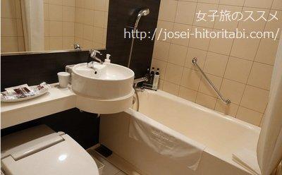 三井ガーデンホテル札幌のお風呂