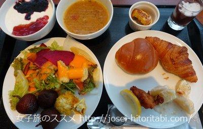 三井ガーデンホテル札幌の朝食バイキング