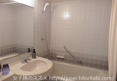 ラジョリー元町の客室風呂