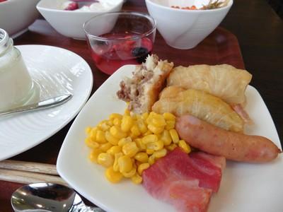 ラジョリー元町の朝食