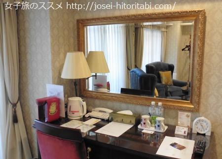 ホテルケーニヒスクローネの客室