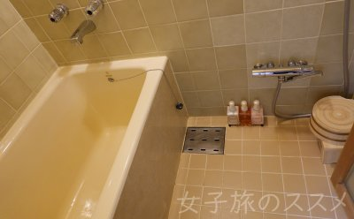 山水館 川湯みどりやの客室風呂