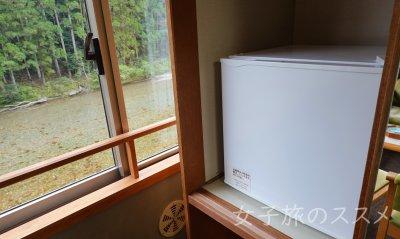 山水館 川湯みどりやの冷蔵庫