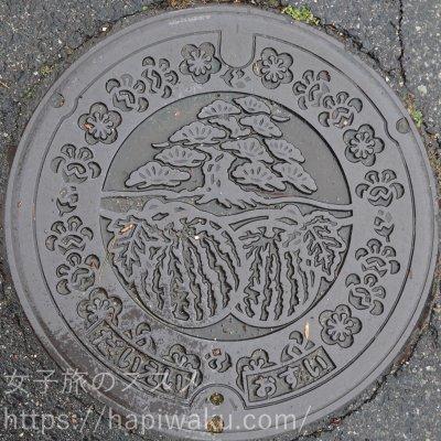 鳥取県のマンホール