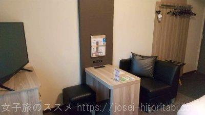 ホテルルートイン米子の客室